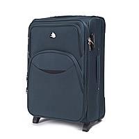 Дорожный тканевый чемодан Wings 1708  размер S (ручная кладь) зеленый