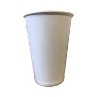 Паперові стакани 180 мл, одношаровий, білий, вендінг, 50 шт./рукав (арт.0052)