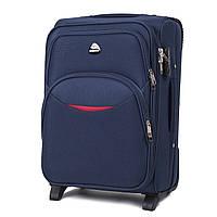 Дорожный тканевый чемодан Wings 1708  размер S (ручная кладь) синий