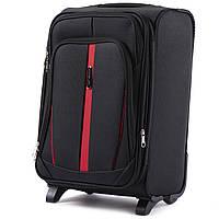 Дорожный тканевый чемодан Wings 1706  размер S (ручная кладь) черный