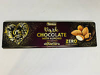 Черный шоколад Torras с миндалем без сахара, 300 г, фото 1
