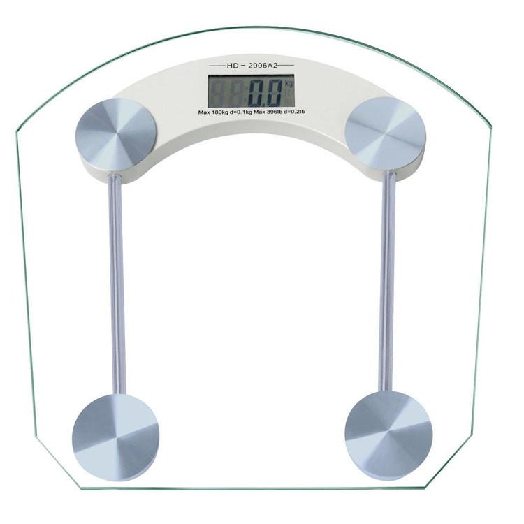 Весы напольные стеклянные DOMOTEC 2003B 150кг
