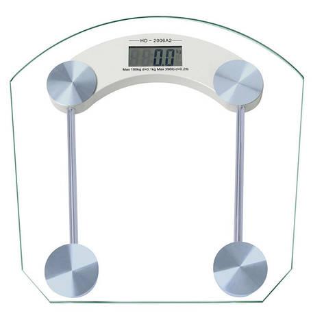 Весы напольные стеклянные DOMOTEC 2003B 150кг, фото 2