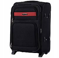 Дорожный тканевый чемодан Wings 1605  размер S (ручная кладь) черный