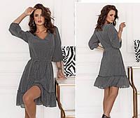 Платье женское в мелкий горошек, фото 1