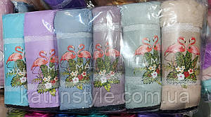 Полотенца кухонные прямоугольной формы 35*70 см ( 6 шт)