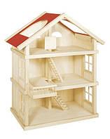 Кукольный домик Goki три этажа (51957)