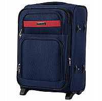 Дорожный тканевый чемодан Wings 1605  размер S (ручная кладь) синий, фото 1