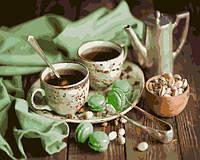 Картина по номерам Brushme Мятное чаепитие