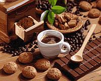 Картина по номерам Brushme Горячий шоколад