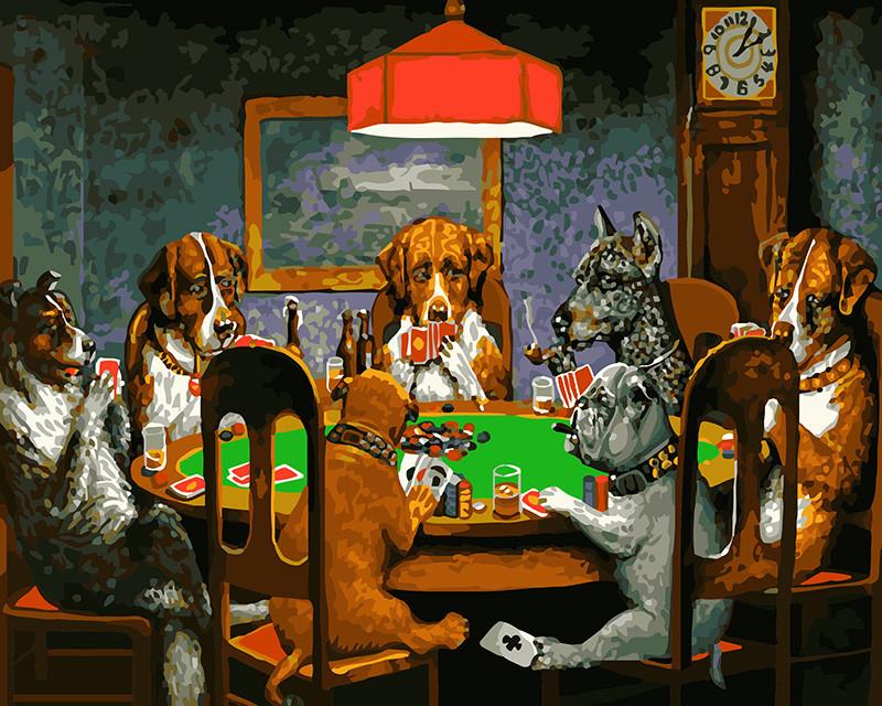 Картина по номерам Brushme Покер