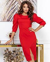 Платье женское красное, фото 1