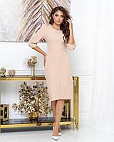 Сукня жіноча бежевий, фото 1