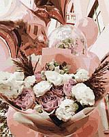 Картина по номерам Brushme Воздушные цветы
