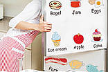 Інтер'єрна наклейка на стіну Дитяча Їжа Англійською AM7090, фото 3