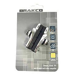 Тормозные колодки ободные VENZO совм.Shimano,Angle (пара, комплект) ROAD Brake cb-16-e08-052