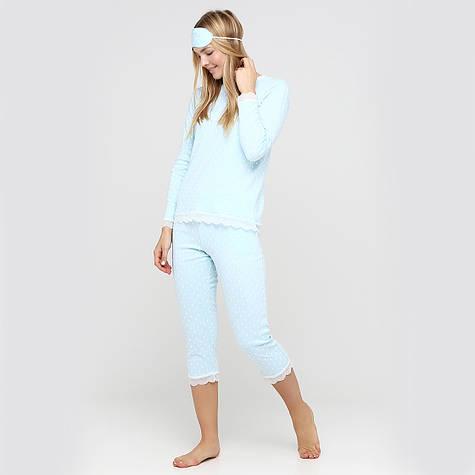 """Женская пижама из хлопка футболка с бриджами """"Hurts"""" 44-56"""