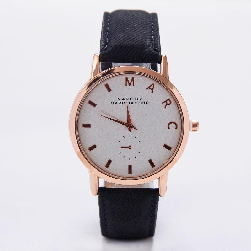 Часы Marc черный ремешок 079-4