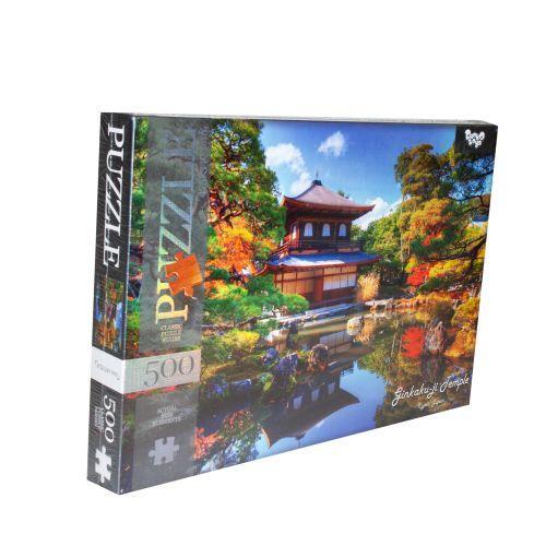 "Пазлы ""Храм Гинкаку-дзи, Киото, Япония"", 500 элементов C500-12-09"