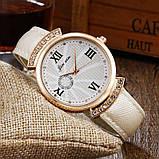 Женские часы JX стразы золотистые 131-3, фото 2