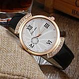Женские часы JX стразы черные 131-4, фото 2