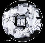 Двойные Гелевые накладки Valgus Pro для коррекции больших пальцев стопы (Валгус Про) белые, фото 2