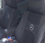 Авточехлы Nika на Mercedes Vito 2 W639/Viano 1+2 от 2003 года комплект на передние сидения, фото 2