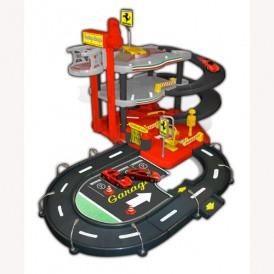Игровой набор - ГАРАЖ FERRARI (3 уровня, 2 машинки 1:43) от Bburago - под заказ