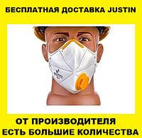 Респиратор FFP2 С КЛАПАНОМ Микрон ФФП2,многоразовая маска для лица,для медиков, от вирусов ОРИГИНАЛ