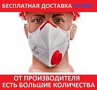 Респиратор FFP3 с клапаном Микрон ФФП3,многоразовая маска для лица,для медиков, от вирусов ОРИГИНАЛ