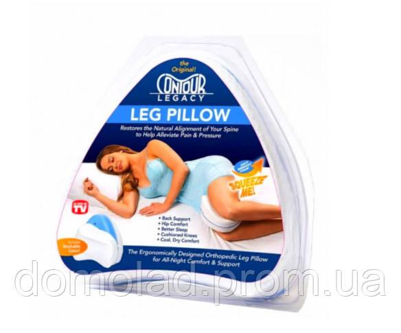 Ортопедическая Подушка Для Ног Подушка Для Ног Анатомическая Leg Pillow Белая