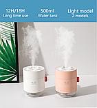Ультразвуковой увлажнитель воздуха Нumidifier 500 мл, фото 3