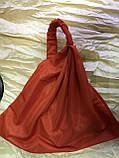 Косынка повязка на резинке цвет розовый терракотовый голубой, фото 7