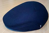Кепка мужская синяя и чёрная шерстяная реглан 56 57