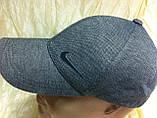 Шапка-бейсболка из трикотажного полотна цвет черный и серый, фото 6