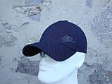 Шапка-бейсболка из трикотажного полотна цвет черный и серый, фото 7