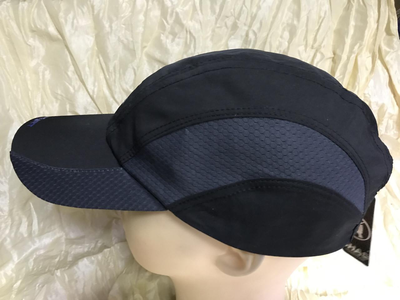 Бейсболка из плащёвки размер 58-60 цвет чёрный