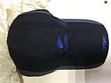 Бейсболка из плащёвки размер 58-60 цвет чёрный, фото 2