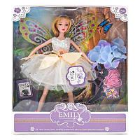 Кукла QJ093C (24шт) 30см, фея, крылья, цветы, в ко, (Оригинал)