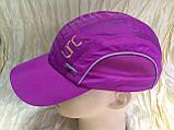 Бейсболка из плащёвки размер 54-56 цвет лиловый, фото 2