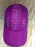 Бейсболка из плащёвки размер 54-56 цвет лиловый, фото 4