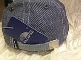 Бейсболка из двухцветной джинсы серая  55-56 и 62, фото 5