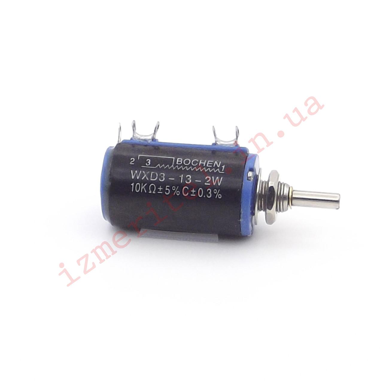 Многооборотный потенциометр WXD3-13-2W 10 кОм