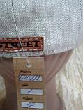 Мужская восмиклинка лён с нашивкой на затылке кепки 56 57 раз, фото 3