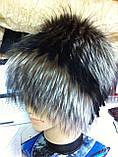 Женская шапка из меха блюфроста  барбара голд, фото 2