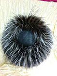 Женская шапка из меха блюфроста  барбара голд, фото 4