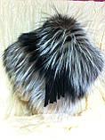 Женская шапка из меха блюфроста  барбара голд, фото 5