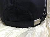 Бейсболка утеплённая мужская чёрная с серыми вставками из плащёвки, фото 3