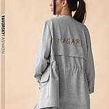Спортивный женский костюм на манжетах  на поясе с карманами, фото 8