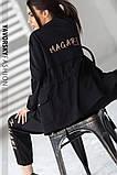 Спортивный женский костюм на манжетах  на поясе с карманами, фото 10